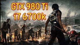 Dead Rising 3 GTX 980 Ti & i7 6700k OC | 1440p Max Settings | FRAME-RATE TEST
