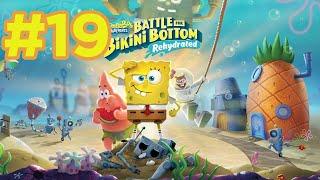 Bob Esponja: Battle for Bikini Bottom Rehydrated 💦 - Fondo de roca - Cap. 19