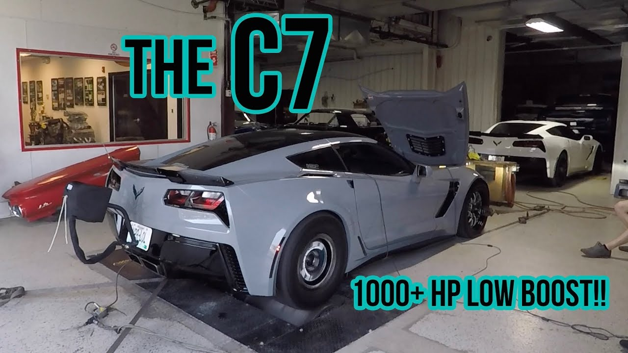 The C7 LIVES! INSANE power for 19lbs of BOOST!