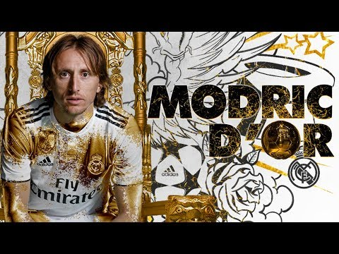Luka Modric - BALLON D'OR 2018