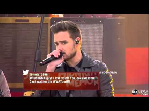 One Direction Day 'Story of My Life' Live on 'GMA'