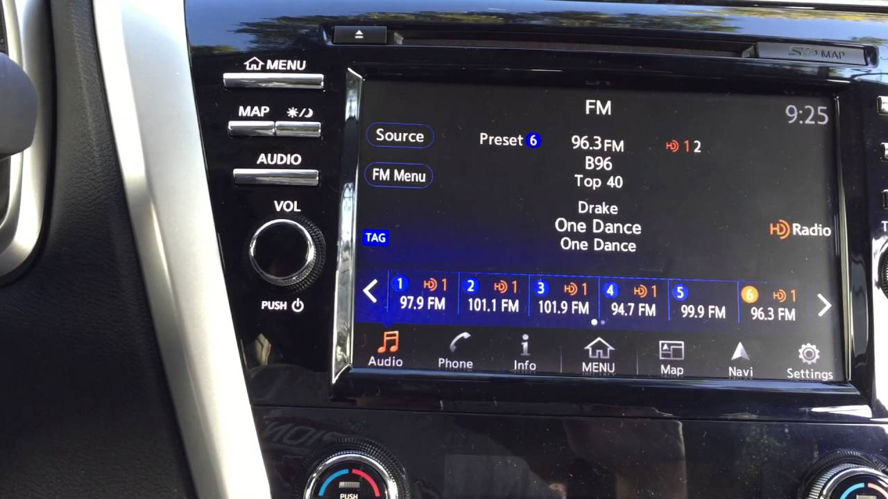 Nissan Murano W Nav Turn Off Hd Radio