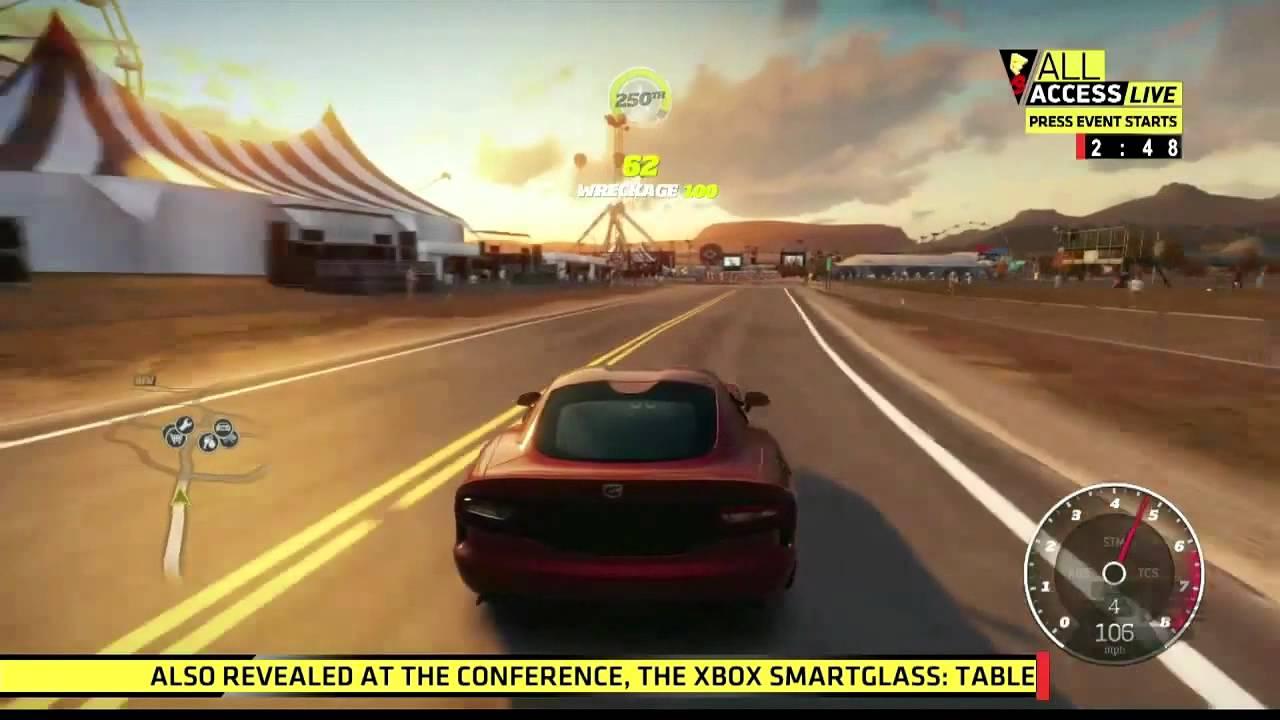 Forza Horizon - E3 gameplay demo - YouTube