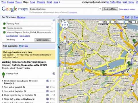 Create Walking Maps With Google Maps YouTube - Route planner walking google maps