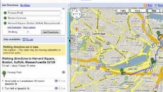 Erstellen walking-Karten mit Google-Maps