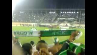 النشيد الوطني الجزائري والليبي 14-10-2012