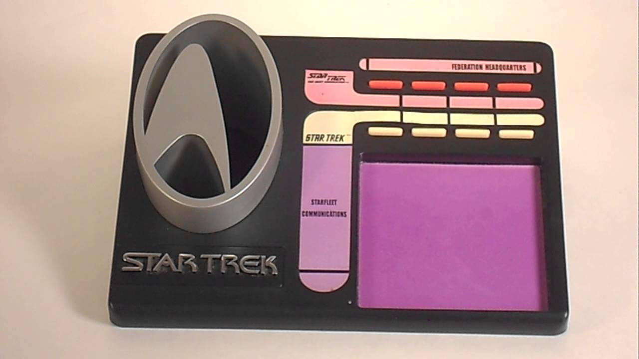 Star Trek Desk Organizer