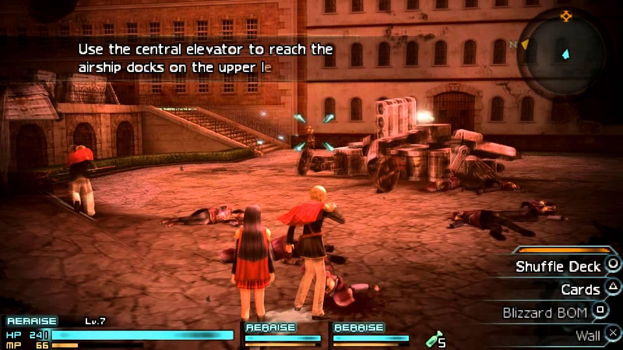 Tradução de fãs de Final Fantasy Type-0 está enfim disponível