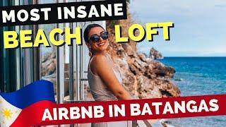 Gambar cover MOST INSANE Beach Loft AirBnB in Anilao BATANGAS - Philippines Travel Vlog