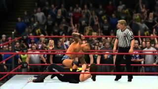 WWE'13 - Randy Orton vs Cactus Jack (Extreme Rules Match)