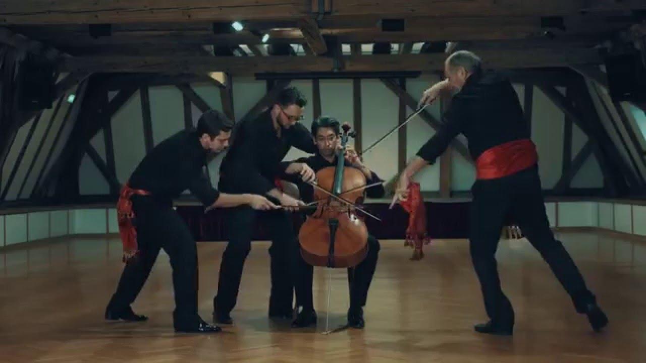 Wiener Cello Ensemble 5+1׃ Bolero - YouTube
