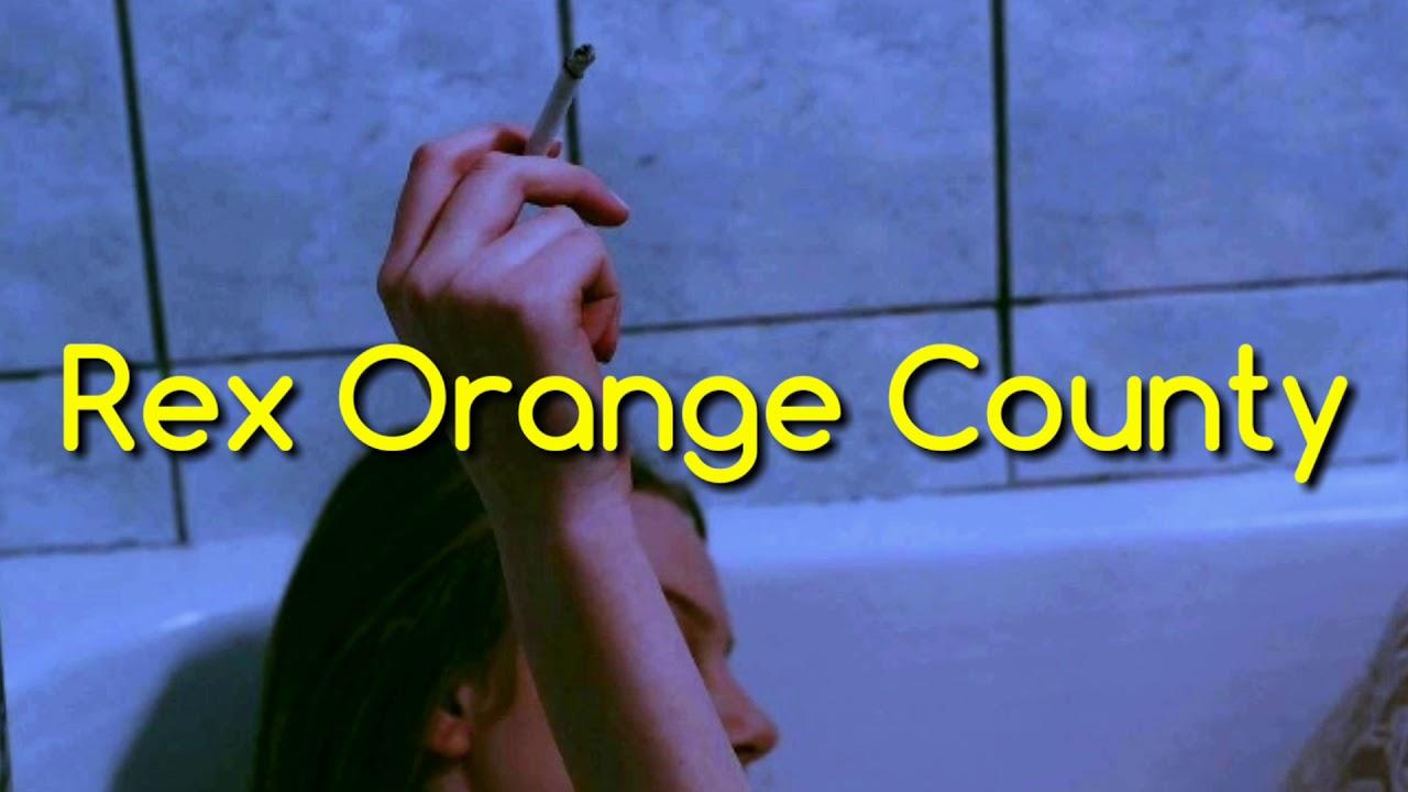 rex orange county lyrics for captions