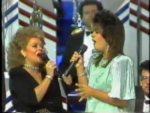 Tammy Faye Bakker and Tammy Sue Sing Lean on Me 2nd Version