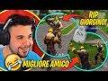 😢 Rip Giorgino!! Il Migliore Amico Di Cicciogamer89!! Momenti Divertenti Su Fortnite In Live 🤣🤣