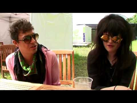 The Kills at Glastonbury 2011