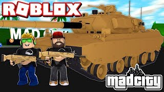 MILITARY UPDATE in ROBLOX MAD CITY