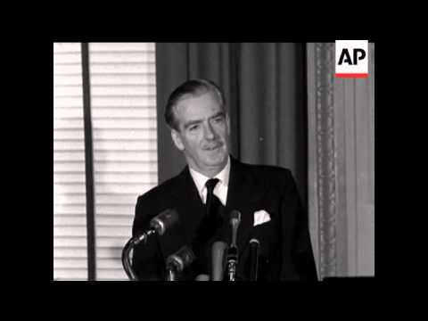 What were Anthony Eden's reasons for joining France and Israel in the invasion of Egypt 1956?