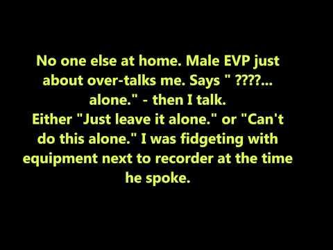 EVP male says     just leave it alone     23 April 2015 lvrm a m