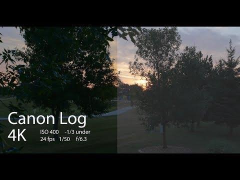 Canon EOS 5D Mark IV CLog ISO 400 4K Dynamic Range Test samples