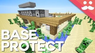 10 Ways to Protect Your Minecraft House thumbnail