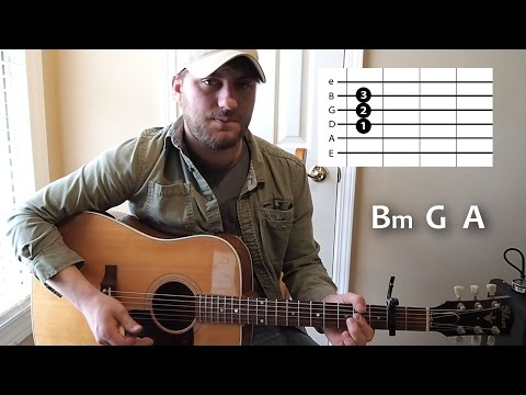 Any Ol' Barstool - Jason Aldean - Guitar Lesson - Beginner - Intro / Verse / Chorus