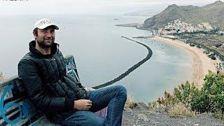 КАНАРЫ: Перекус с видом на океан у пляжа Тереситас на Тенерифе... TERESITAS TENERIFE CANAEY ISLANDS