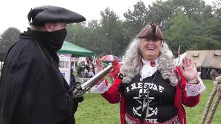 various clips of the pirate event 2018 aug. brotherhood of the black pirate festival