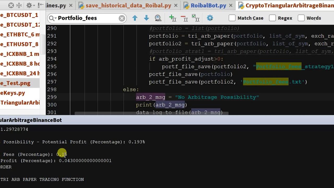Binance Coin Crypto Arbitrage Bot