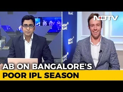 IPL 2018: It's Been A Very Disappointing Season, Says De Villiers