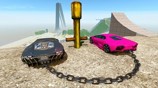 High Speed Jump Crashes BeamNG Drive Compilation #31 (BeamNG Drive Crashes)