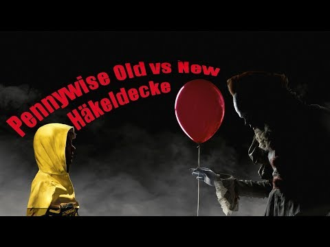 Pennywise Old vs. New Häkeldecke | Handmade Crochet Blanket