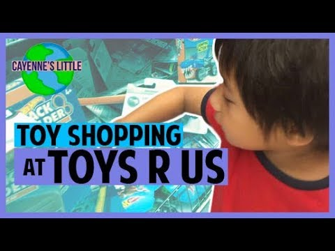 Toy Shopping At TOYS R US