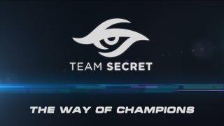 Team Secret - The Way of Champions [Shanghai Major Movie]
