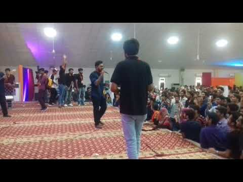 Sohaib Waseem the greatest singer of Hamdard University