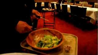 Bern's Steak House, Caesar salad -- Sophie Gayot of GAYOT.com