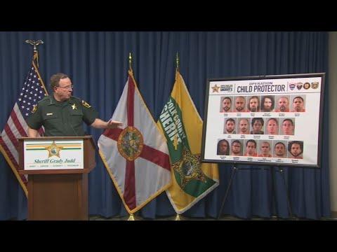 """Nasty, nasty people:"" 17 arrests after undercover child-predator sting"