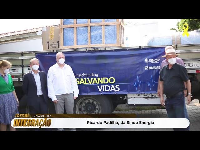Primeira usina de oxigênio será instalada em Sinop - ao vivo: Ricardo Padilha da Sinop Energia