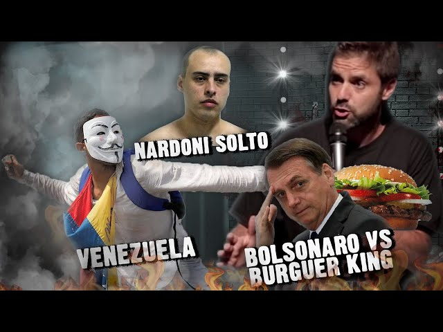 Fábio Rabin - Venezuela / Bolsonaro vs Burger King / Nardoni solto