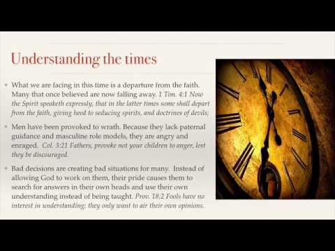 EX Ministries Presents: Understanding The Times by: G. Craige Lewis