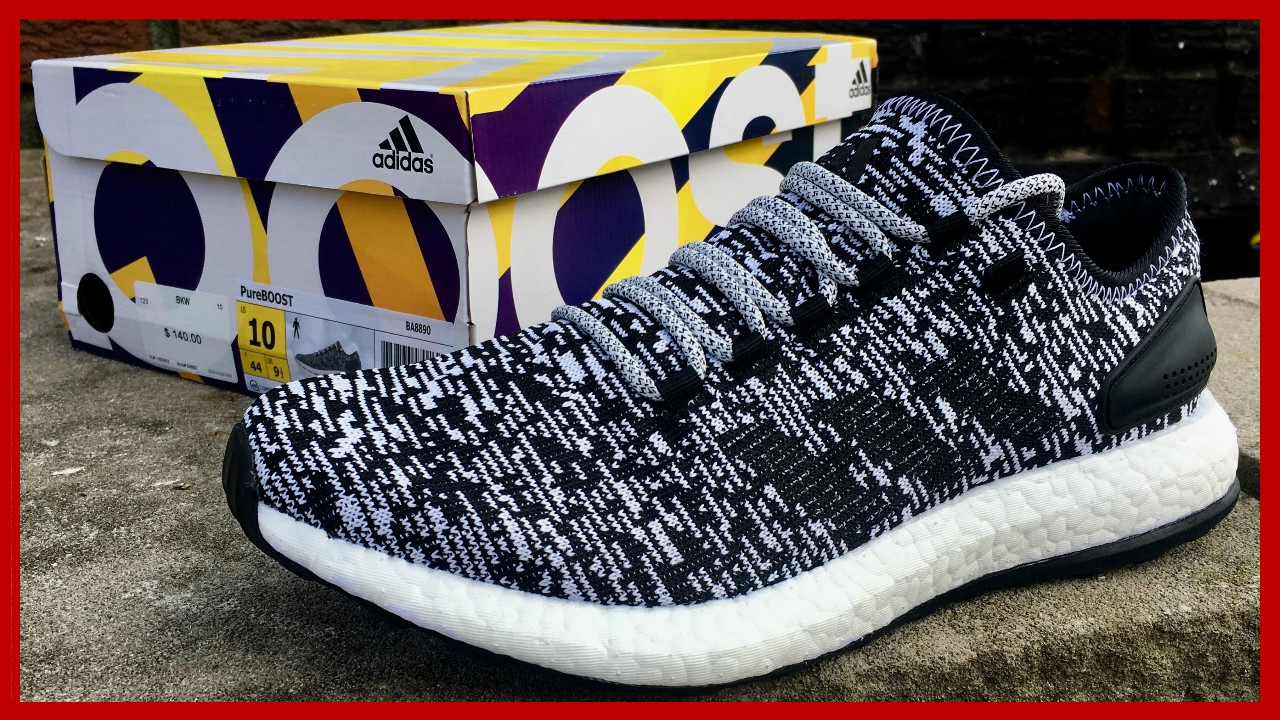 2e2f11f69dc37b Adidas Pure BOOST Review and Unboxing - YouTube