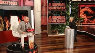 connectYoutube - Ellen's Burning Questions with Michael Keaton