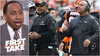 Bengals shouldn't replace Marvin Lewis with Hue Jackson - Stephen A. l First Take