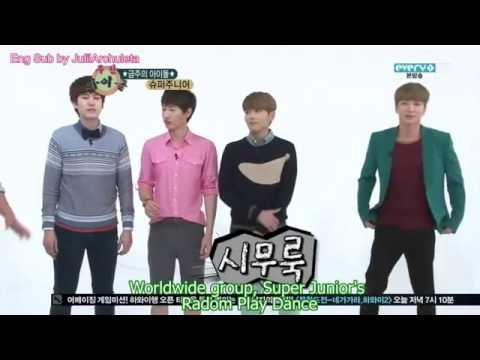 Weekly Idol - With Super Junior Part1 (engsub)