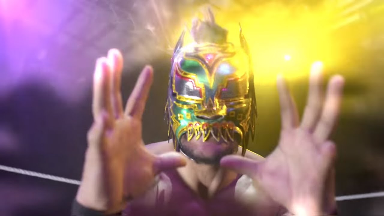 Lucha Libre Youtube Lince Dorado Brings Unique Lucha Action To Wwe 205 Live