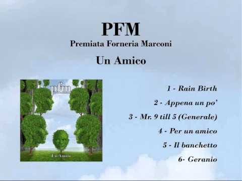 PFM - Un amico [full album]