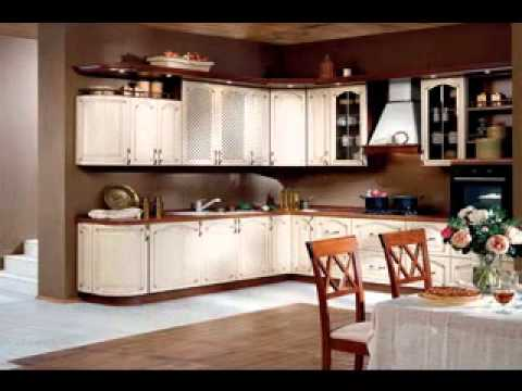 Kitchen wall color design ideas - YouTube