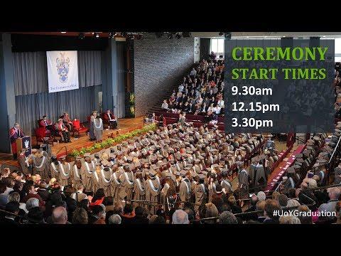 Winter Graduation 2018: Ceremony 3,  3.30pm Friday 19 January