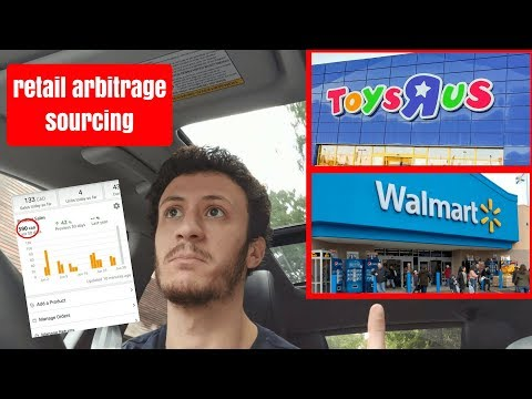 Amazon FBA Retail Arbitrage - Making money shopping at WALMA
