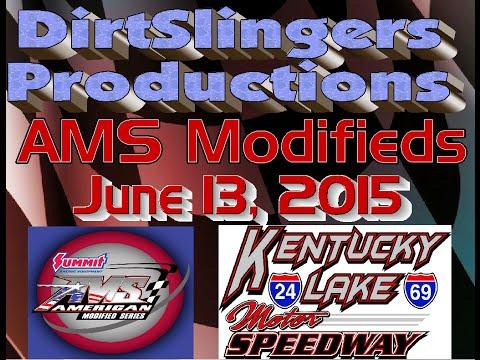 AMS Modifieds Heats & B-Mains @ KLMS 6/13/15