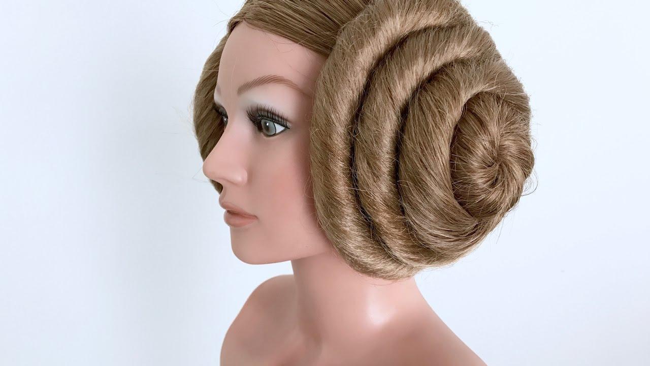 Princess Leia Hair Buns Tutorial How To Youtube